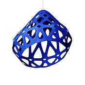 Для дома и интерьера handmade. Livemaster - original item Zaha LIGHT blue chandelier. Handmade.