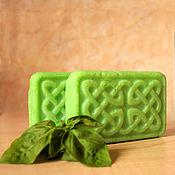 Косметика ручной работы. Ярмарка Мастеров - ручная работа -20% `Удачная покупка! Мята` - натуральное мыло с нуля. Handmade.