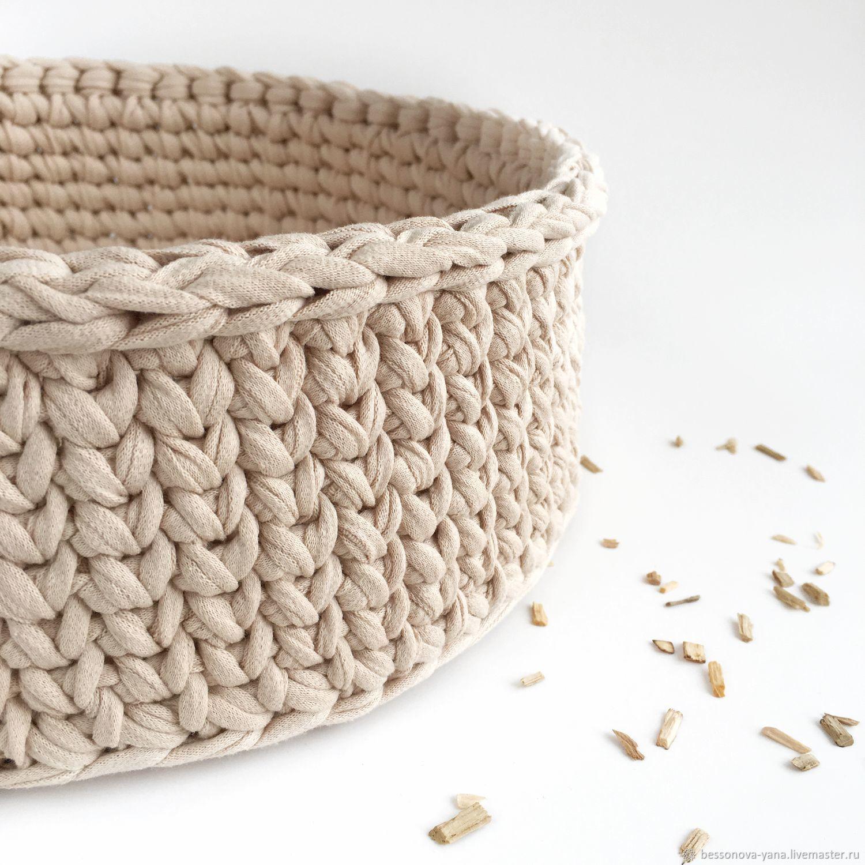 Knitted basket, Basket, Samara,  Фото №1
