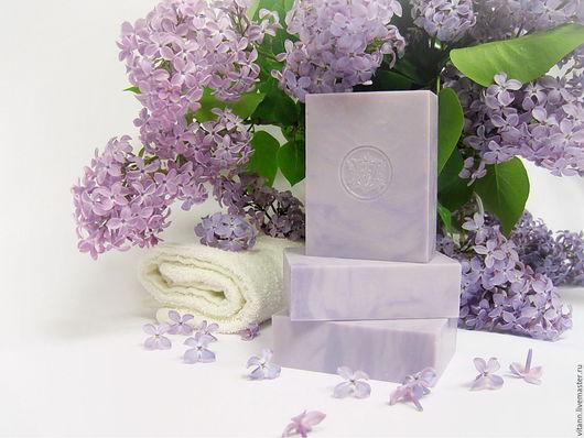 """Мыло ручной работы. Ярмарка Мастеров - ручная работа. Купить """"Сиреневый сад"""" натуральное мыло. Handmade. Натуральное мыло"""