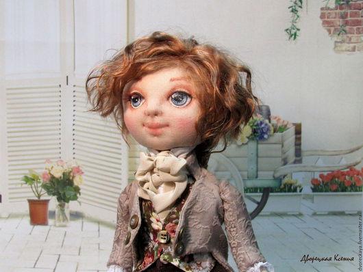 Коллекционные куклы ручной работы. Ярмарка Мастеров - ручная работа. Купить Бенджамин. Handmade. Купить куклу в подарок, авторская кукла