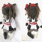 Куклы и игрушки ручной работы. Ярмарка Мастеров - ручная работа Джек Воробей.. Handmade.
