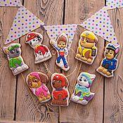 handmade. Livemaster - original item gingerbread paw patrol. Handmade.