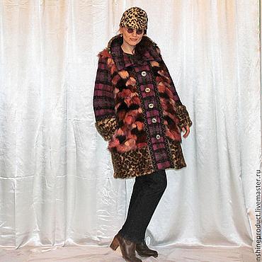 """Одежда ручной работы. Ярмарка Мастеров - ручная работа Шуба-пальто """"Верное сочетание"""". Handmade."""