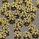 Металлические разделители бусин спейсеры Шарики для сборки украшений\r\nСплав цинка без добавления свинца и кадмия с покрытием цвет античное золото
