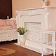 Кукольный дом ручной работы. Белая гостиная (1:4). Мастерская кукольной мебели (sssanshi). Ярмарка Мастеров. Диван для куклы