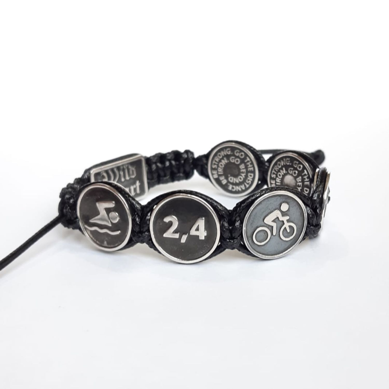 Triathlon Bracelet, Bead bracelet, Moscow,  Фото №1
