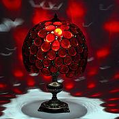 """Для дома и интерьера ручной работы. Ярмарка Мастеров - ручная работа Настольная лампа  """" Капли цвета """". Handmade."""
