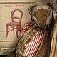 Мишки Тедди ручной работы. Ярмарка Мастеров - ручная работа. Купить Матрасный. Handmade. Коричневый, мишка ручной работы, опилки