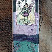 """Канцелярские товары ручной работы. Ярмарка Мастеров - ручная работа Закладка из коллекции """"Мир маленьких фей""""(№19). Handmade."""
