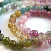 handmade. Livemaster - original item Beads: tourmaline smooth ball 10 pieces. Handmade.