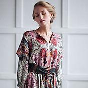 Одежда ручной работы. Ярмарка Мастеров - ручная работа Платье из тонкой шерсти /Etro/. Handmade.