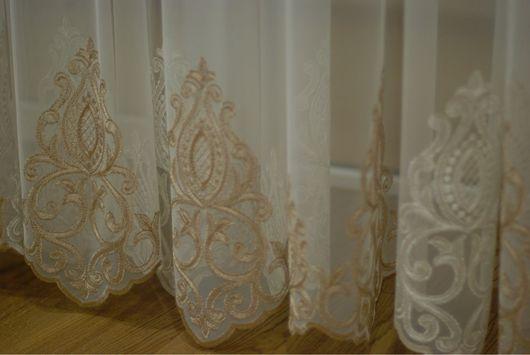 Текстиль, ковры ручной работы. Ярмарка Мастеров - ручная работа. Купить Тюль. Сетка с купоном. Handmade. Тюль в спальню, сетка