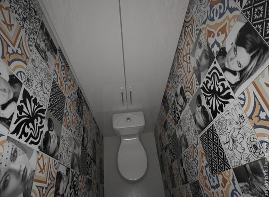 Дизайн интерьеров ручной работы. Ярмарка Мастеров - ручная работа. Купить Варианты ванной комнаты  и сан.узла. Handmade.