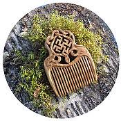 Сувениры и подарки handmade. Livemaster - original item Combs: Protective comb overcoming the GRASS - PERUNOV COLOR. Handmade.