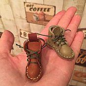 Куклы и игрушки ручной работы. Ярмарка Мастеров - ручная работа Ботинки для куклы. Handmade.
