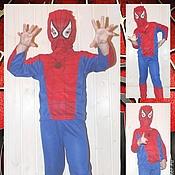 Работы для детей, ручной работы. Ярмарка Мастеров - ручная работа Карнавальный костюм: Человек-Паук (Питер Паркер). Handmade.