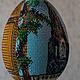Яйца ручной работы. Заказать Церковь Троице-Никольская. Любовь Заева (zaeva). Ярмарка Мастеров. Пасхальное яйцо, вышитая икона