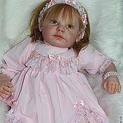 Работы для детей, ручной работы. Ярмарка Мастеров - ручная работа Платье для новорожденной. Handmade.