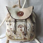 """Сумки и аксессуары ручной работы. Ярмарка Мастеров - ручная работа рюкзак """" сухоцветы"""". Handmade."""
