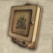Для дома и интерьера ручной работы. Ярмарка Мастеров - ручная работа Ключница  Ключик от дома (ключница настенная, ключница светлая). Handmade.