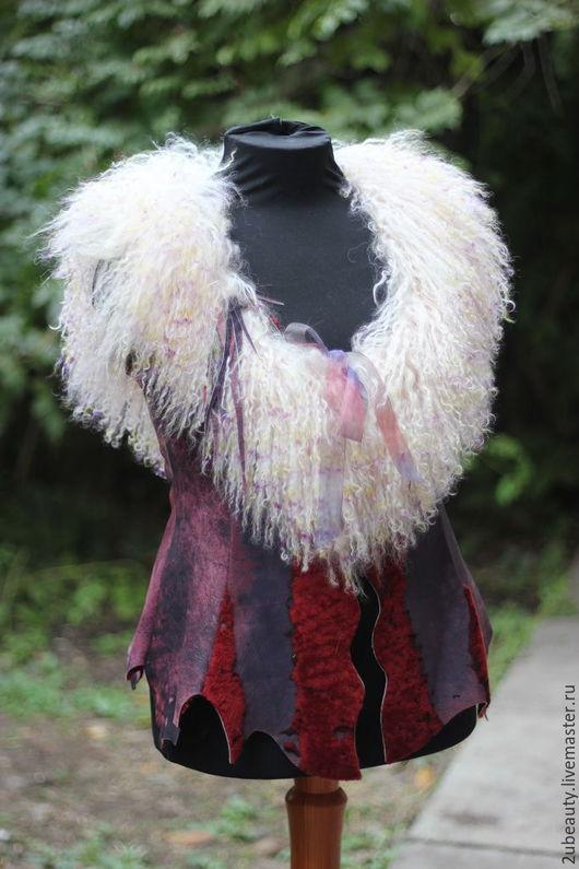 Меховой жилет,жилет из меха,женский жилет,женский меховой жилет,жилет женский.