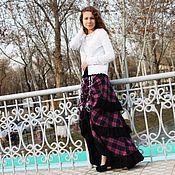 Одежда handmade. Livemaster - original item Long stylish boho-skirt