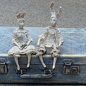 Куклы и игрушки ручной работы. Ярмарка Мастеров - ручная работа Шерочка с Машерочкой))). Handmade.