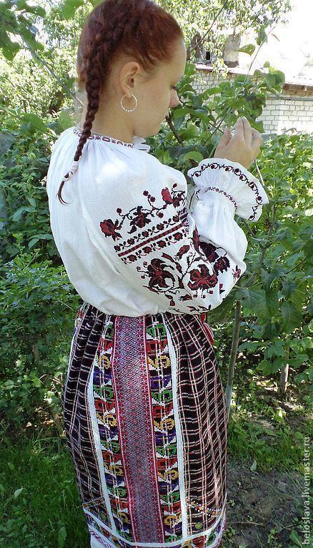 Рубаха  брянская, Народные рубахи, Брянск,  Фото №1