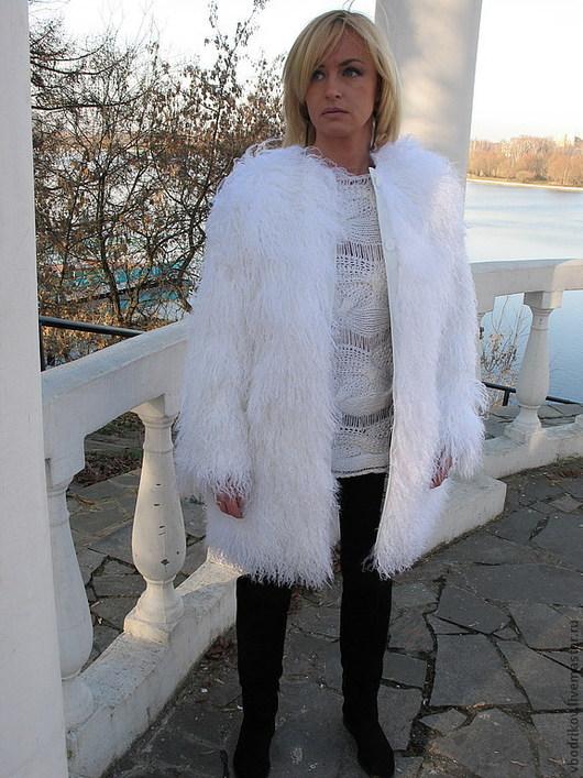 """Верхняя одежда ручной работы. Ярмарка Мастеров - ручная работа. Купить Шубка """" Белоснежка - 2 """". Handmade. Белый"""
