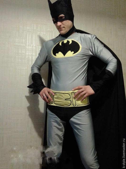 Карнавальные костюмы ручной работы. Ярмарка Мастеров - ручная работа. Купить Костюм Бэтмена. Handmade. Серый, черный, карнавальный костюм