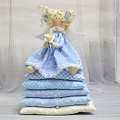 Куклы и игрушки ручной работы. Ярмарка Мастеров - ручная работа Тильда Принцесса на горошине Виолетт. Handmade.
