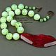 оригинал натурал колье бусы салатовый зеленый срез агата опалит лунный камень крупный кулон необычные бусы красный зеленый гранат колье подвеской бусы кулон комплект зеленый малиновый подарок любимой