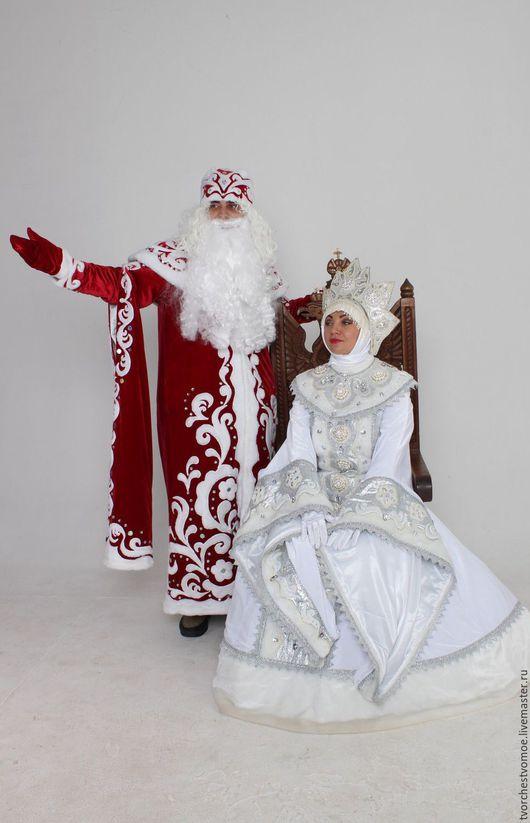 костюмы от 35000 каждый, в зависимости от количества декорирующих элементов