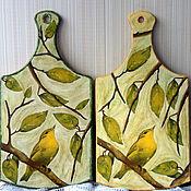 """Картины и панно ручной работы. Ярмарка Мастеров - ручная работа Доски """"Весенний пейзаж"""". Handmade."""