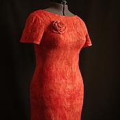 Одежда handmade. Livemaster - original item The perfect red dress. Handmade.