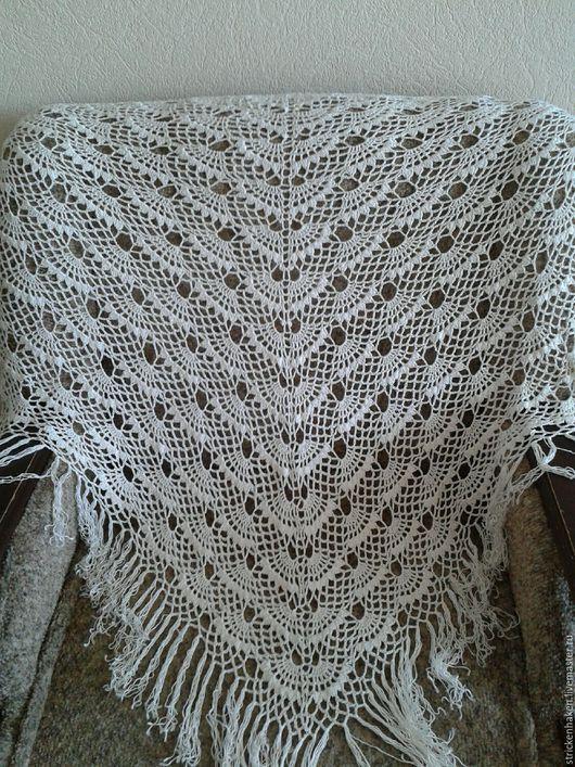 Шали, палантины ручной работы. Ярмарка Мастеров - ручная работа. Купить Шаль летняя, шаль ажурная,шаль легкая, шаль вязаная,шаль ручной работы. Handmade.