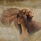 Аксессуары handmade. Livemaster - original item Hat summer
