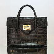 Сумки и аксессуары handmade. Livemaster - original item Crocodile bag MAJESTY. Handmade.