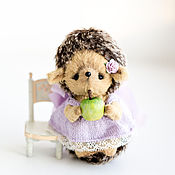Куклы и игрушки ручной работы. Ярмарка Мастеров - ручная работа Лавандовый ежик. Handmade.