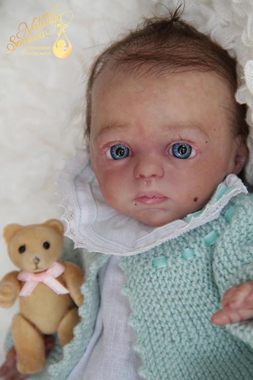 Куклы-младенцы и reborn ручной работы. Ярмарка Мастеров - ручная работа. Купить Алина. Handmade. Бледно-сиреневый, nessa