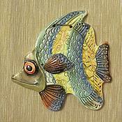 Дизайн и реклама ручной работы. Ярмарка Мастеров - ручная работа Рыба №   3.Панно. Handmade.