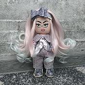 Тыквоголовка ручной работы. Ярмарка Мастеров - ручная работа Текстильная кукла. Handmade.