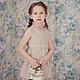 Одежда для девочек, ручной работы. Ярмарка Мастеров - ручная работа. Купить Платье (Арт.: Д-34). Handmade.