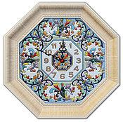 Для дома и интерьера ручной работы. Ярмарка Мастеров - ручная работа Часы декоративные,керамические,. Handmade.
