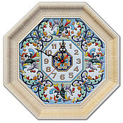 Для дома и интерьера handmade. Livemaster - original item Clocks, decorative,ceramic. Handmade.
