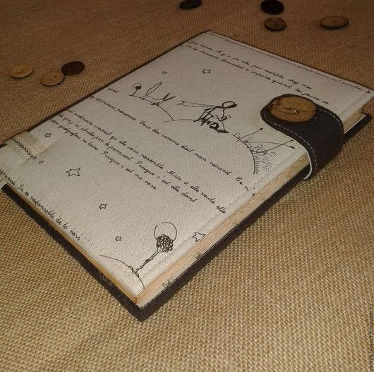 Блокноты ручной работы. Ярмарка Мастеров - ручная работа. Купить Блокнот ручной работы Маленький принц (формат А5). Handmade.