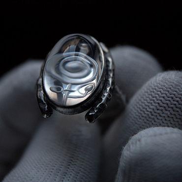 Decorations handmade. Livemaster - original item Ring crystal card. Handmade.