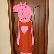 Одежда ручной работы. Ярмарка Мастеров - ручная работа свинка пеппа костюм. Handmade.