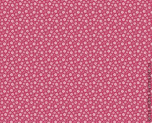 Шитье ручной работы. Ярмарка Мастеров - ручная работа. Купить Ткань Тильда Ilse Carmine Red. Handmade. Разноцветный